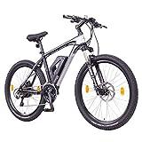 Ncm Prague Plus Bicicleta Eléctrica de Montaña, 250W, Batería 36V 14Ah 504Wh (Negro 26\')