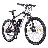 NCM Prague Bicicleta eléctrica de montaña, 250W, Batería 36V 13Ah 468Wh (Negro 29')