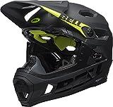 BELL Super DH MIPS Casco de Ciclismo, Unisex Adulto, Negro Mate/Brillante, Small (52-56 cm)